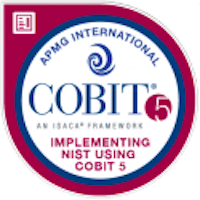 Badge COBIT®5 for NIST
