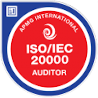 Badge ISO 20000 Auditor