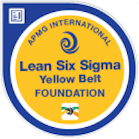 Badge Lean Six Sigma