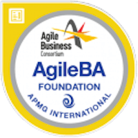 Badge AgileBA® Foundation