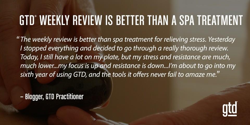 Weekly Review GTD