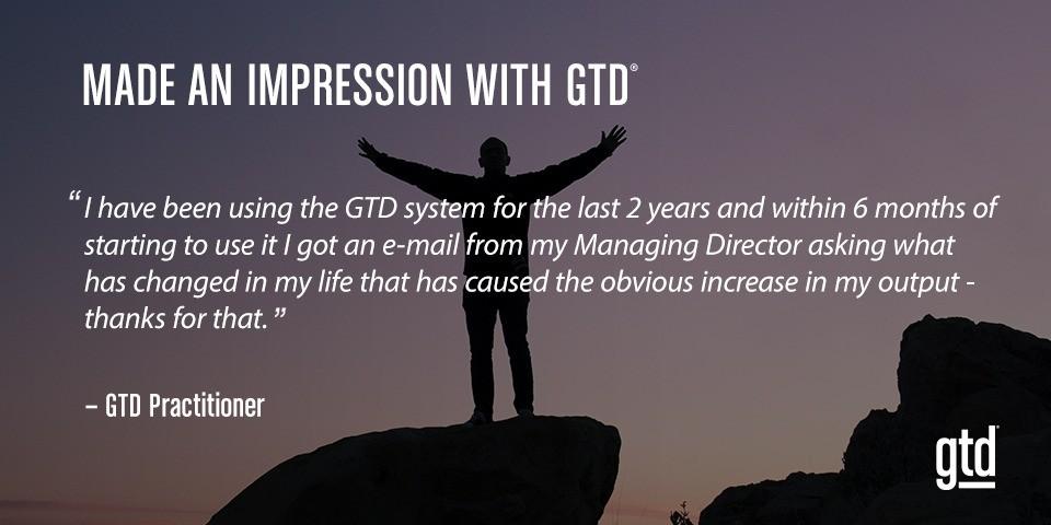Workshop GTD® Mastering Workflow Level 2